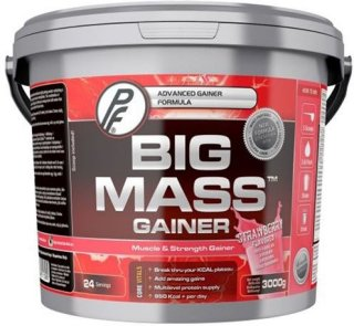 Proteinfabrikken Big Mass Gainer Jordbær 3kg