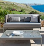 Ethimo Infinity sofa m/puter