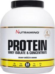 Nutramino Whey Protein Sjokoladebanan 1,8kg