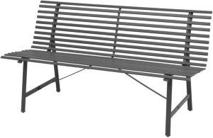 VidaXL Hagebenk stål 150x62x80cm