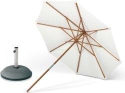 Skagerak Catania parasoll inkl. fot