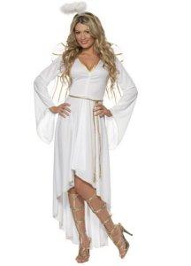 Engel kostyme dame