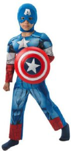 Rubies Kaptein America Kostyme