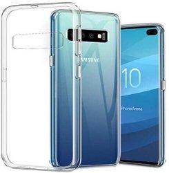 Gjennomsiktig TPU Deksel Samsung Galaxy S10 Plus