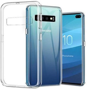 Gjennomsiktig TPU Deksel Samsung Galaxy S10