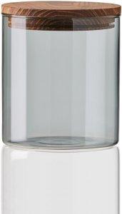 Aida Raw glassboks klar med trelokk liten
