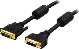 Deltaco DVI-D Dual Link M/M 3m