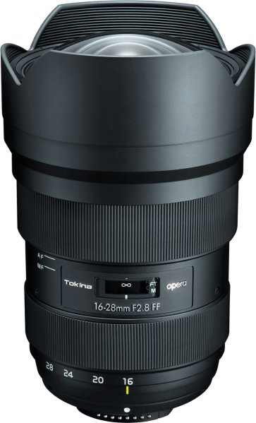 Tokina opera 16-28mm f/2.8 FF for Canon