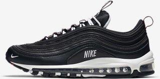 Beste pris Nike Air Max 97 Mennn Nike Air Max 97 Svart Hvit Shoes