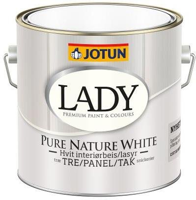 Jotun Lady Pure Nature Hvit (2,7 liter)