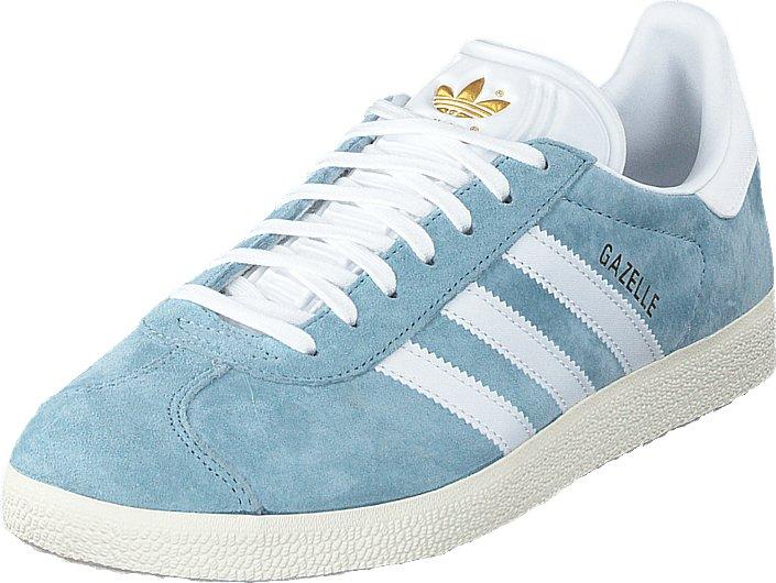 Adidas Originals Gazelle OG Suede Trainer, Grey