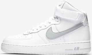 differently 61c40 05a4e Nike Air Force 1 07 Hi (Herre)