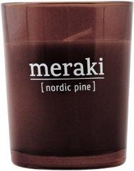 Meraki Nordic Pine Scented Candle 12 timer