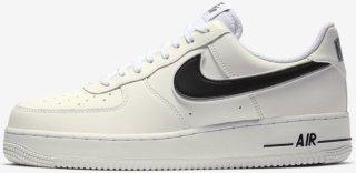 Nike Air Force 1 ´07 HvitNavyRød | unisportstore.no