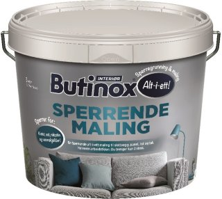 Interiør Sperrende Maling (2,7 liter)
