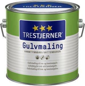 Trestjerner Gulvmaling Matt (2,7 liter)