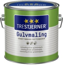 Trestjerner Gulvmaling Blank (0,68 liter)