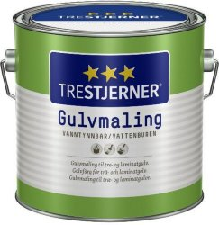Trestjerner Gulvmaling Blank (2,7 liter)