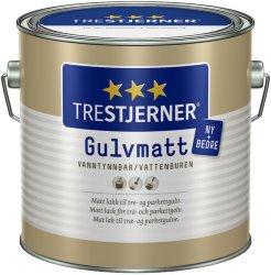 Trestjerner Gulvmatt (2,7 liter)