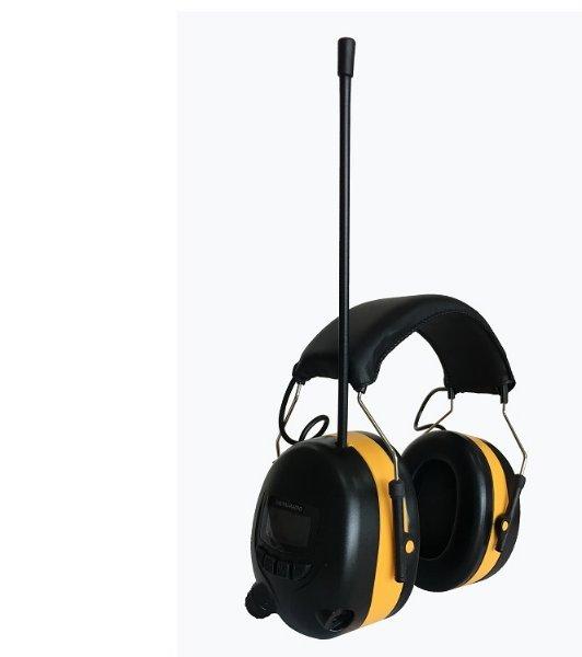 T-tec Hørselvern med DAB+