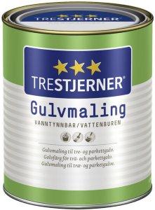 Trestjerner Gulvmaling Halvblank (0,68 liter)