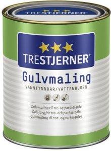 Trestjerner Gulvmaling Matt (0,68 liter)