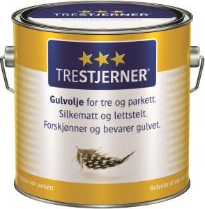 Trestjerner Gulvolje (2,7 liter)