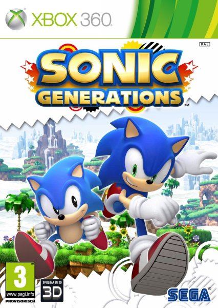 Sonic Generations til Xbox 360