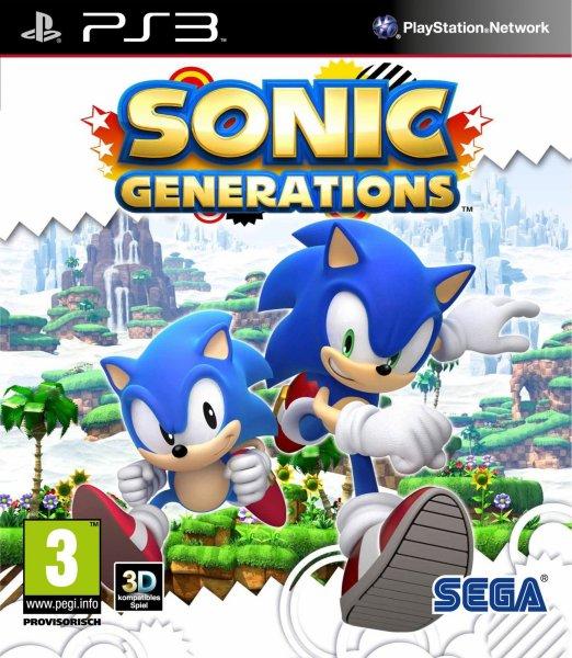 Sonic Generations til PlayStation 3