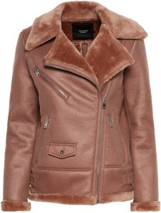 Vero Moda Short Shearling Jacket