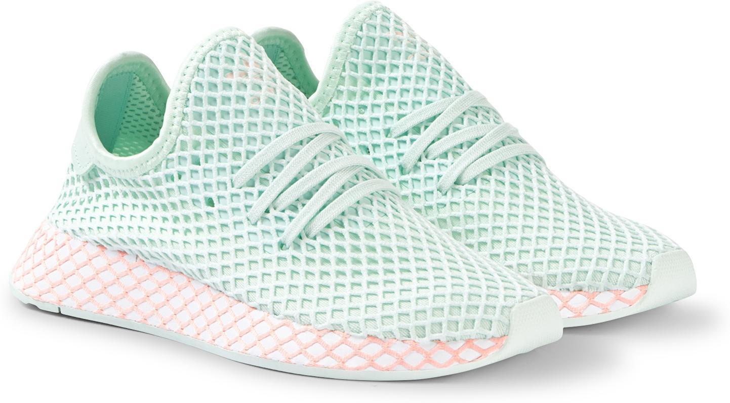 Adidas Originals Sko Tilbud,Deerupt Runner Barn Svart