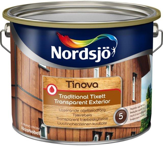 Nordsjö Tinova Traditional Tixett Transparent Exterior (9 liter)