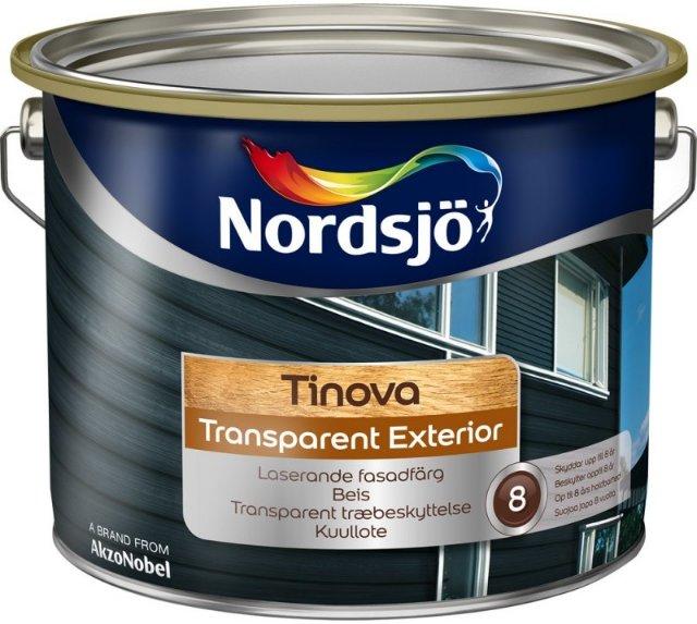 Nordsjö Tinova Transparent Exterior (9 liter)