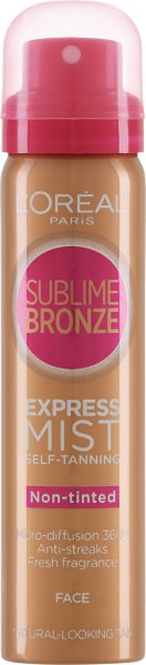 L'Oreal Sublime Bronze Express Self-Tanning Face