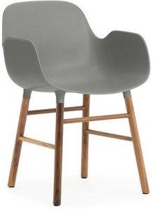 Best pris på Normann Copenhagen Form stol med armlene Se
