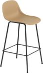 Muuto Fiber Tube barstol med ryggstøtte 65cm