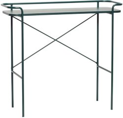 Hübsch Konsollbord grønn metall