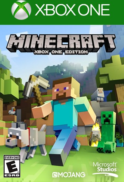 Mojang Specifications Minecraft: Xbox One Edition