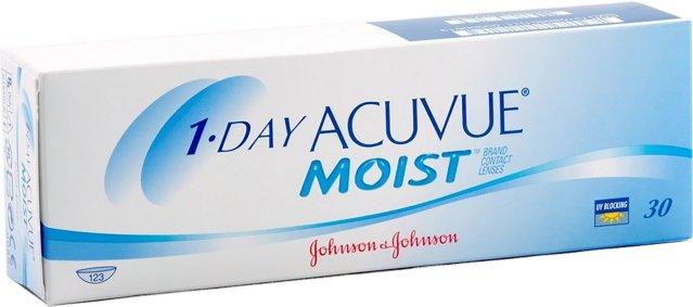 Johnson & Johnson 1-Day Acuvue Moist 30p