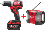 Milwaukee M18 BLDD-502C (2x5,0Ah)