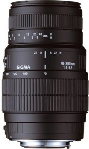 Sigma 70-300mm F4-5.6 APO DG Macro for Canon