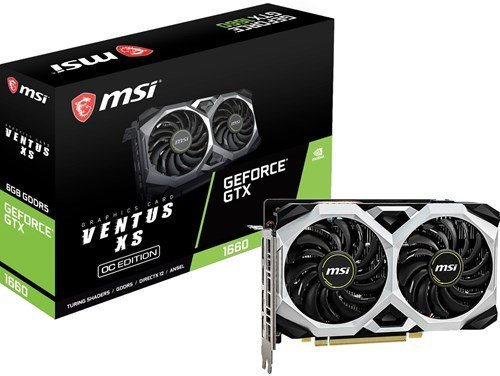 MSI GeForce GTX 1660 Ventus XS OC
