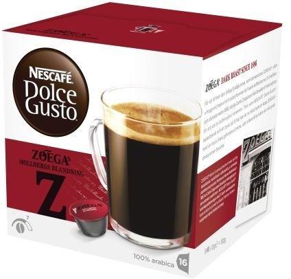 Nescafe Dolce Gusto Zoegas Mollbergs Blanding