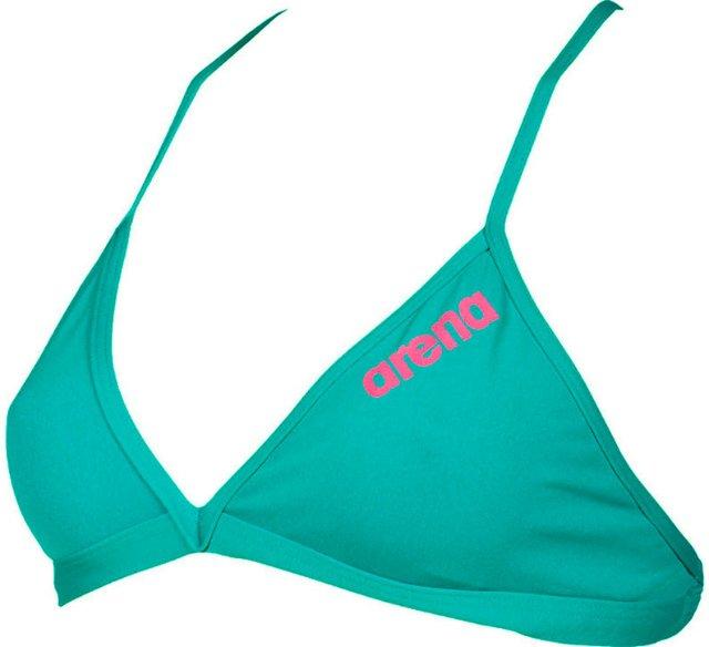 Arena Solid Tie Back Bikini