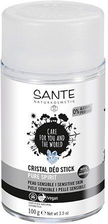 SANTE Naturkosmetik Cristal Déo Stick Pure Spirit 100g