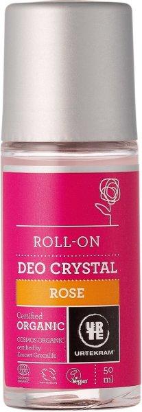 Urtekram Roll-On Deo Crystal Rose