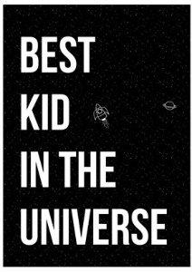 Bloomingville Best Kid poster