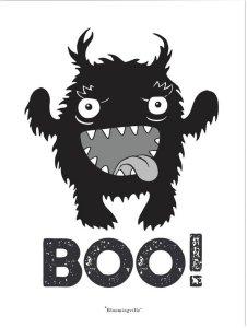 Bloomingville Monster poster