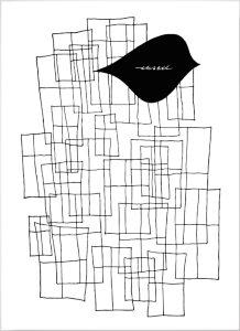 Olle Eksell Rektangel plakat