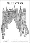 Olle Eksell Manhattan plakat
